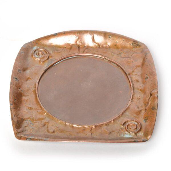 handmade copper tray