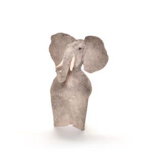 elephant ceramic sculpture