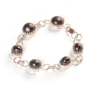garnet handmade bracelet