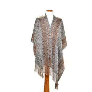 handwoven tencel cotton shawl
