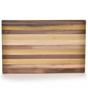 handmade wooden charcuterie board, striped cutting board, handmade cutting board