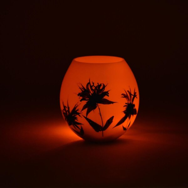 bee balm handmade beeswax lantern