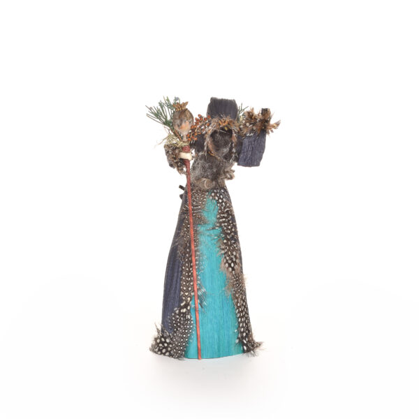 appalachian corn shuck doll, medicinal man, mythical corn shuck