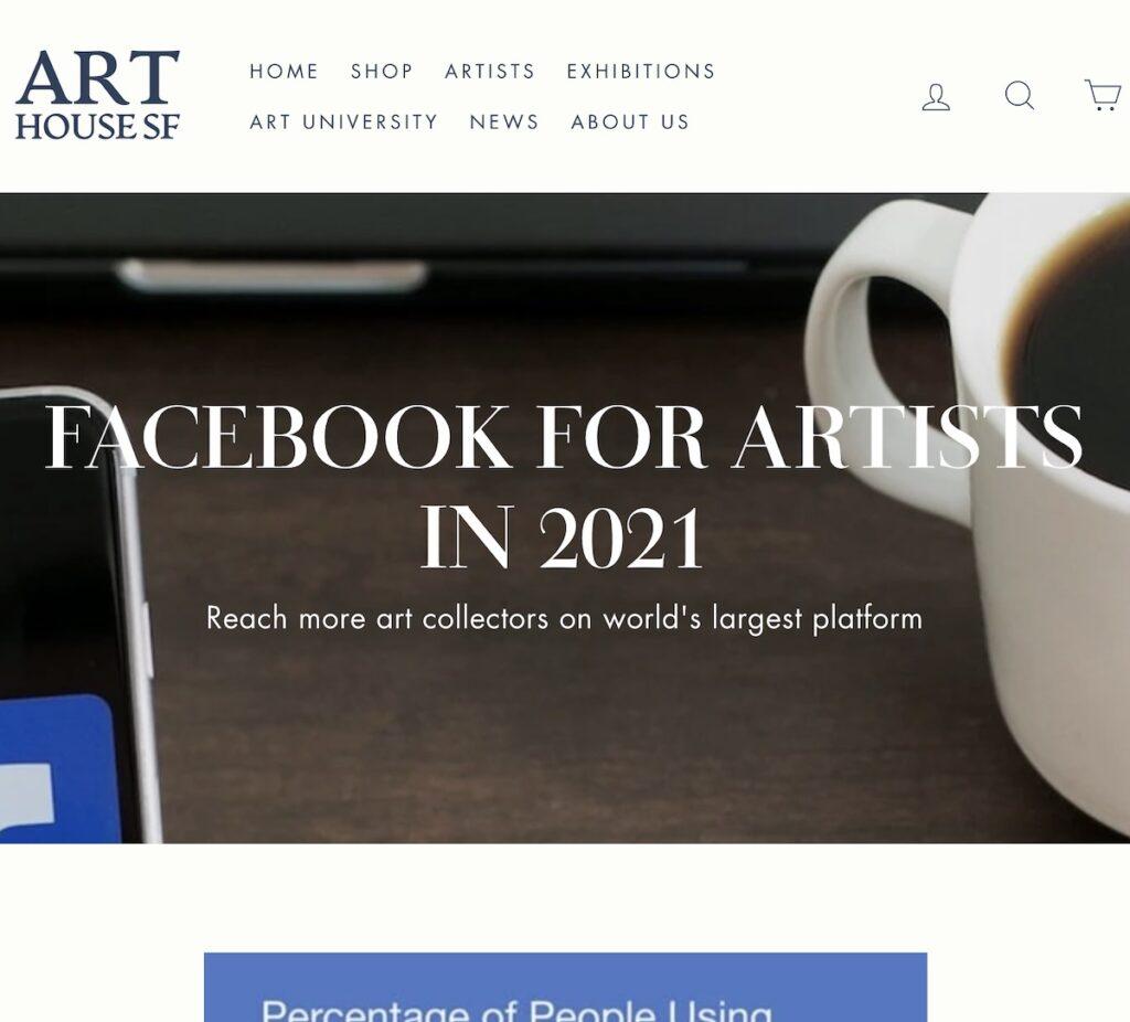 facebook for artists