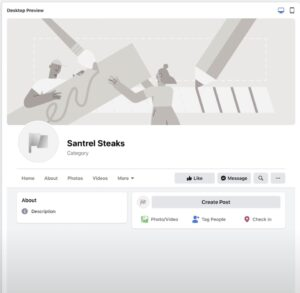 fb biz page