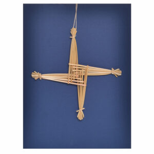 handwoven wheat, traditional appalachian crafts, brigids cross