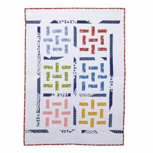 japanese cotton tenugui quilt