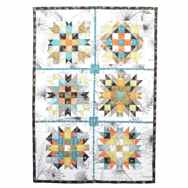 traditional handmade irish daisies quilt