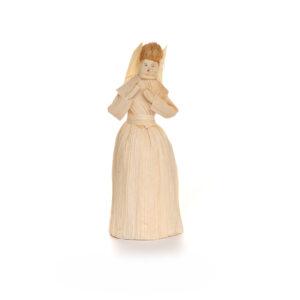 handmade natural corn shuck doll