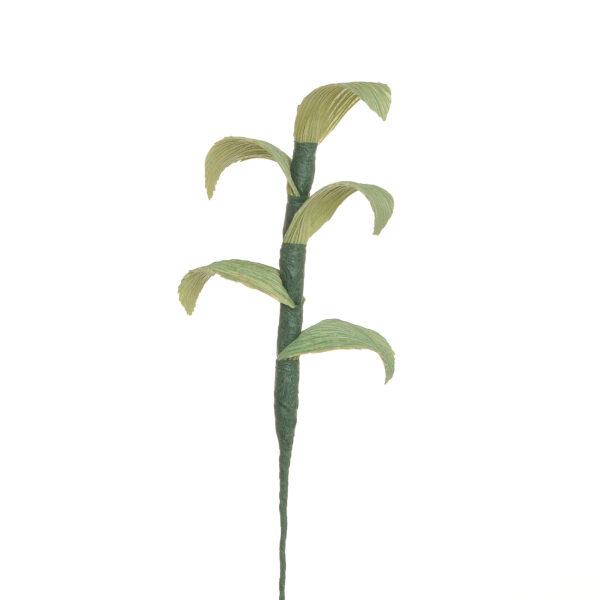 handmade corn shuck greenery for dried bouquets