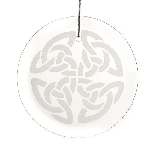 glass Celtic Knot ornament