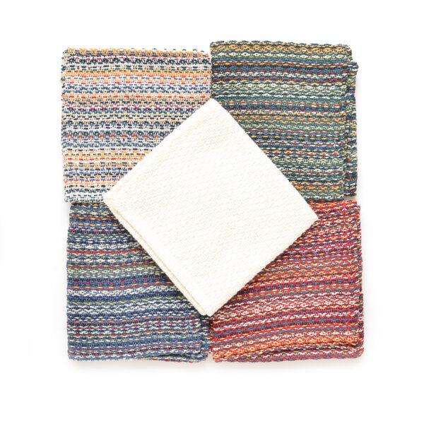 handwoven cotton dish cloth