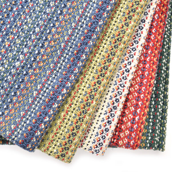 handwoven colorful dish towels, handmade kitchen accessories