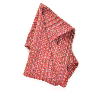 POMEGRANATE RED HANDWOVEN DISH TOWELS