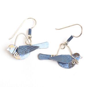 bluebird handmade earrings