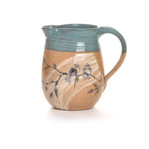sage bluebird medium pitcher,