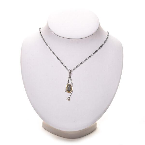twig riverstone necklace