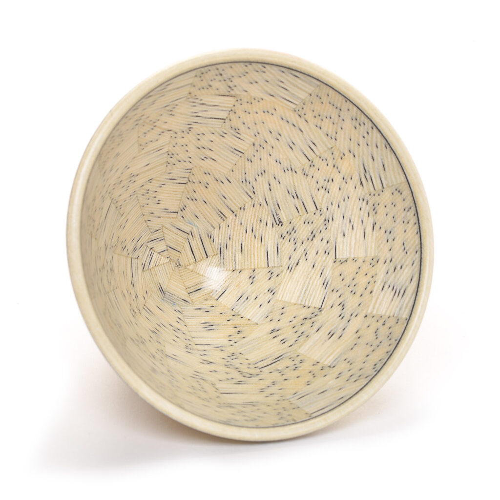 small wood bowl #136 by Buzz Coren