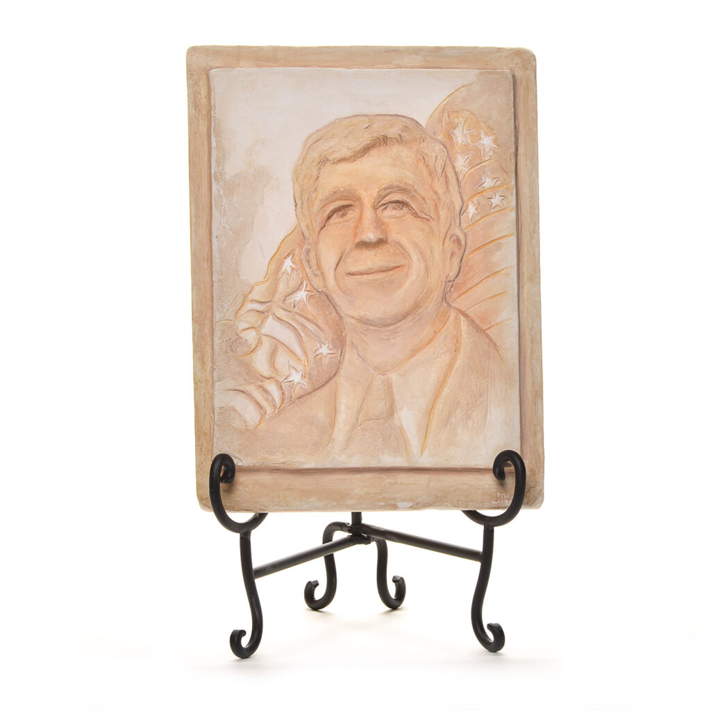roy cooper hand sculpted relief carving tea stained black and white gallery