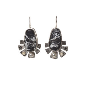 Harmony Within Earrings By Ruthie Cohen and David Alberts