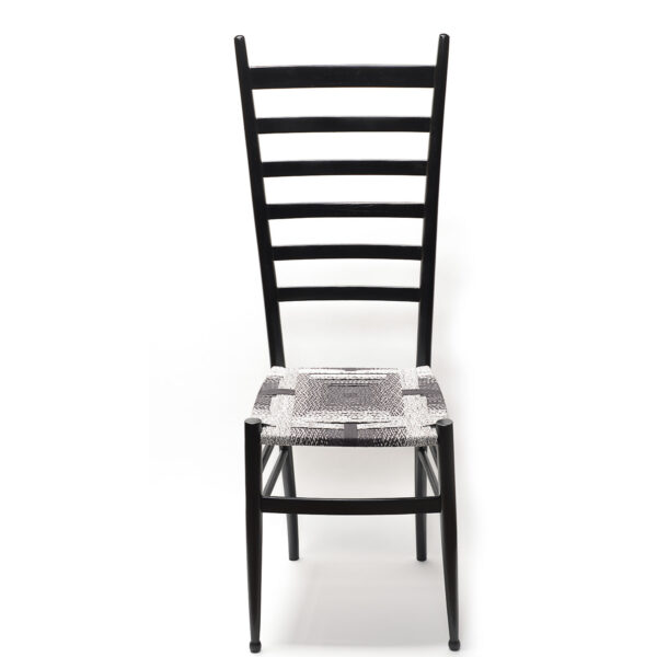 convolution black white and everything in between chair