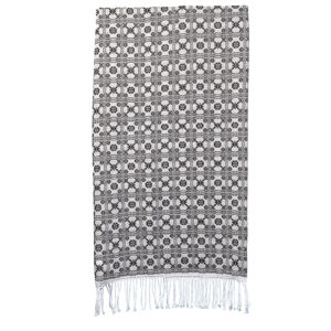 Gertrude's Fancy coverlet throw by jewel tumas