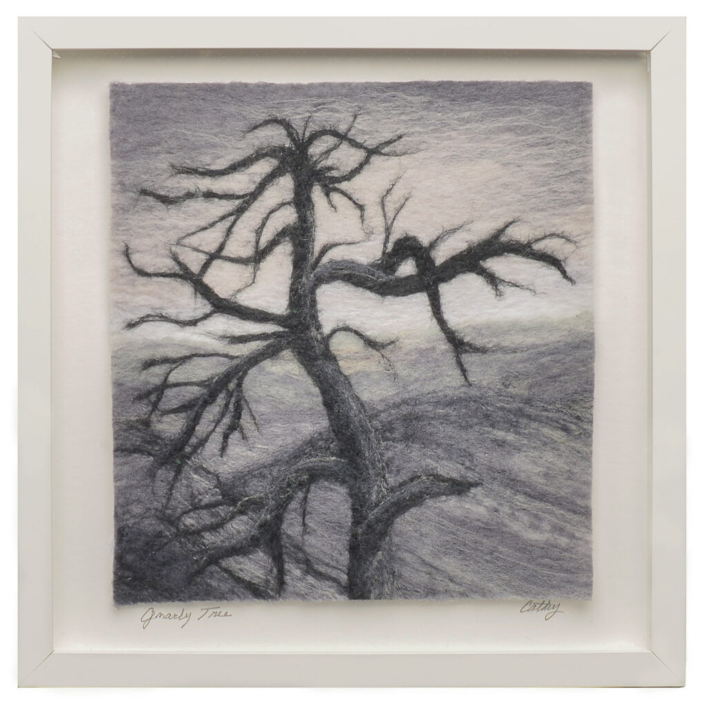 Gnarly Tree on the Blue Ridge Parkway Lorraine Cathey Black and White Show