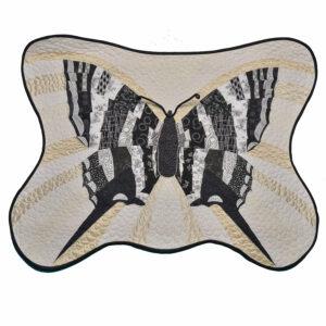 Zebra Swallow Tail butterfly by georgia bonesteel