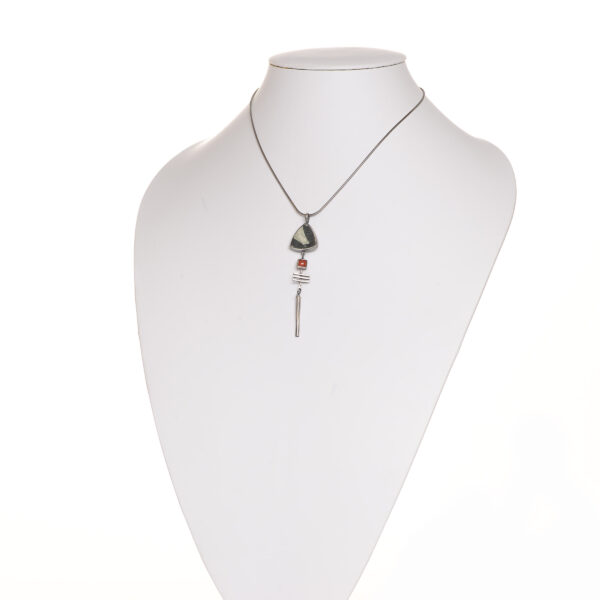 Chinese and Carnelian stone necklace